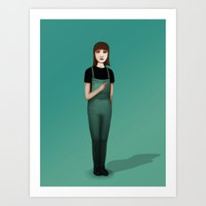 Bevars Art Print
