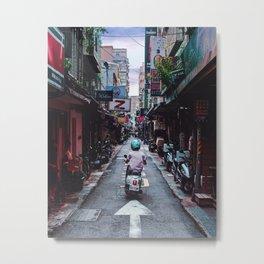 Lin Sen Scooter Metal Print