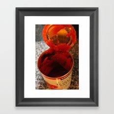 Tomato Can Framed Art Print