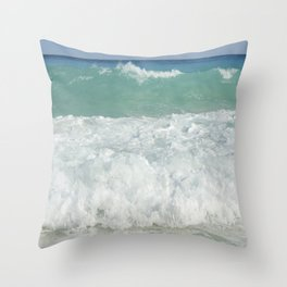 Carribean sea 9 Throw Pillow
