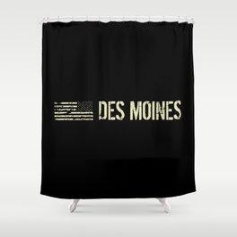 Black Flag: Des Moines Shower Curtain