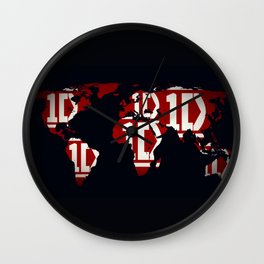 ONE DIRECTION LOGO Wall Clock