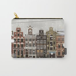 Amsterdam in the snow Carry-All Pouch