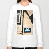 invader zim Long Sleeve T-shirts featuring Invader by theGalary