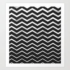 Zag Art Print