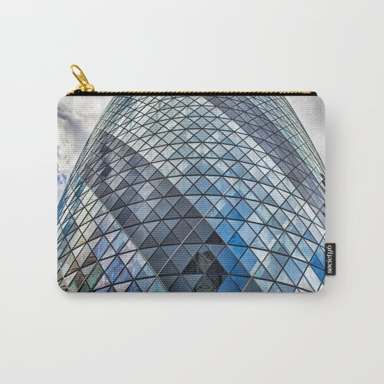 London The Gherkin  30 St Mary Axe Carry-All Pouch
