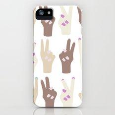 peace Slim Case iPhone (5, 5s)