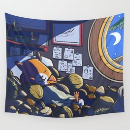 Sleep in Safe Wall Tapestry