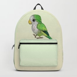 Very cute green parrot Backpack