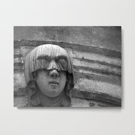 Veiled Shame Metal Print