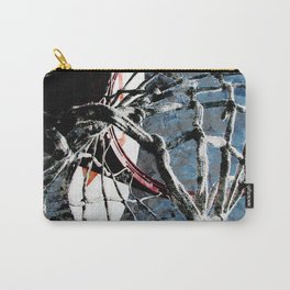 Basketball art swoosh vs 43 Carry-All Pouch