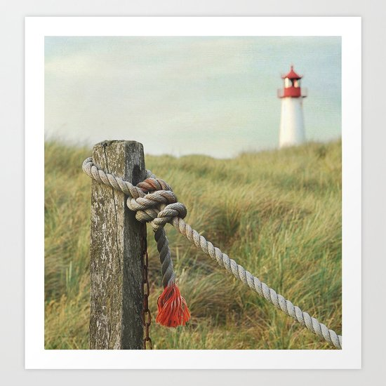 To the Lighthouse Art Print