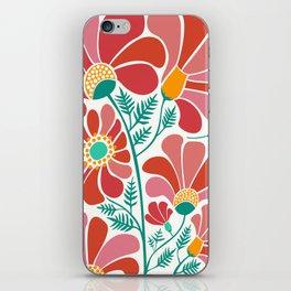 The Happiest Flowers III iPhone Skin