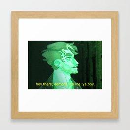 Ya Boy Framed Art Print