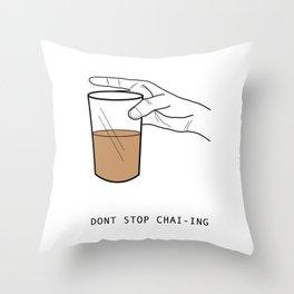 Chai Lover Throw Pillow