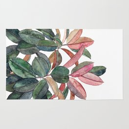 Rubber Plant Rug