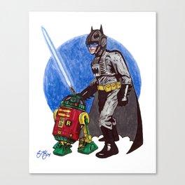 Bat Skywalker Canvas Print