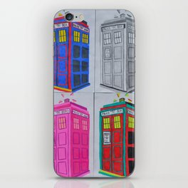 Anywhere in Time and Space iPhone Skin
