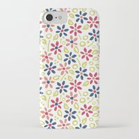 matisse iPhone & iPod Cases featuring Matisse Floral by Rosie Simons