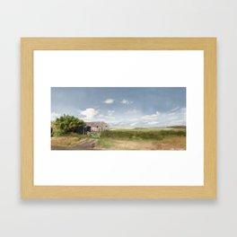 Seaham Fields Framed Art Print