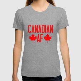 Canadian AF  T-shirt