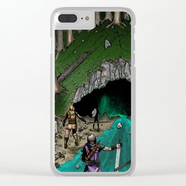 Party Approaching Cave Clear iPhone Case