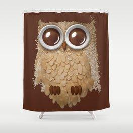 Owlmond 2 Shower Curtain