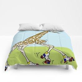 Giraffe Roller Derby Comforters