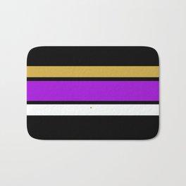 Team  Colors 2...Gold,purple Bath Mat