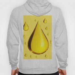 GOLDEN RAIN DROPS ART Hoody
