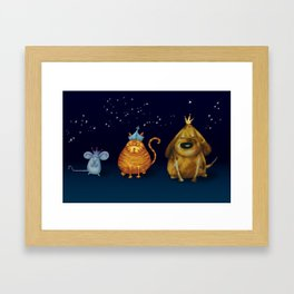 We Three Kings Framed Art Print