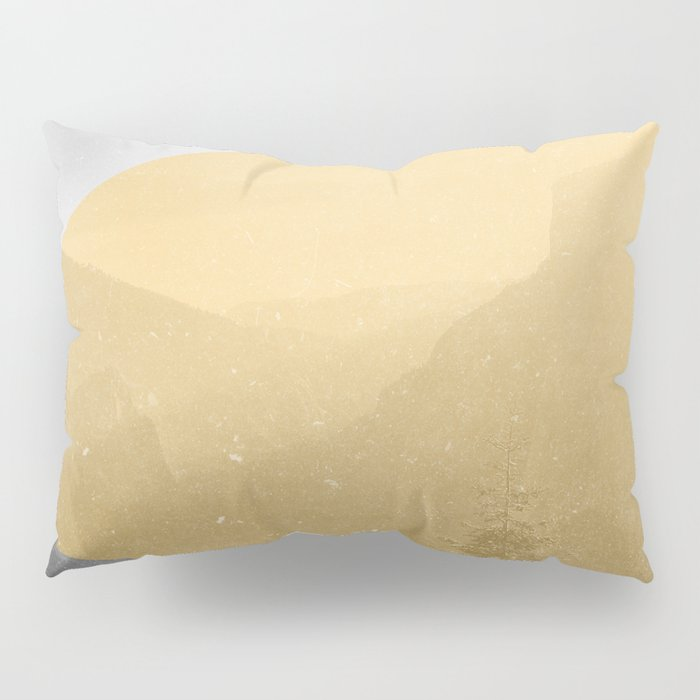 NEON NATURE | Orange Pillow Sham