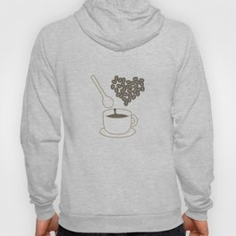 I love coffee Hoody