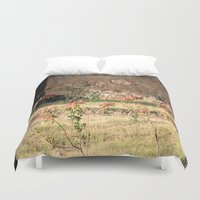 poppy Duvet Covers featuring Poppy by Four Hands Art