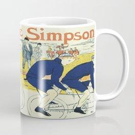 Vintage poster - La Chaine Simpson Coffee Mug
