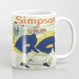 Vintage poster - La Chaine Simpson Coffee Mug