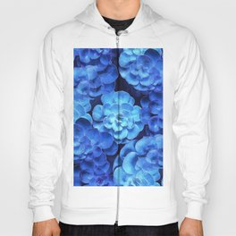 Succulent Plants In Blue Tones #decor #society6 #homedecor Hoody
