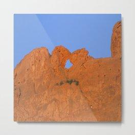 Kissing Camels Red Rocks Metal Print