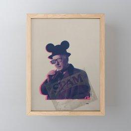 Mind the Business Print by Barrie J Davies 2020 Framed Mini Art Print