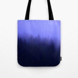 Periwinkle Fog 0367 - Seward, Alaska Tote Bag
