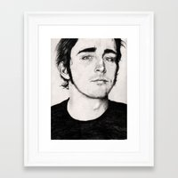 lee pace Framed Art Prints featuring Lee Pace by nonlocality