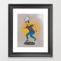 Skater, like no other Framed Art Print
