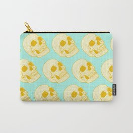 Neon Skull Carry-All Pouch