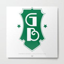 GREENBACK BOOGIES  //  Dchl Co-Ed Floor Hockey Metal Print