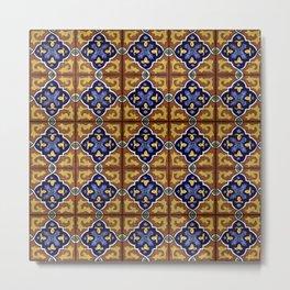 Tiles - VI Metal Print