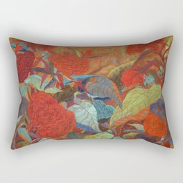 flower3【Japanese painting】 Rectangular Pillow