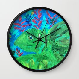 Save the Sea Turtle Wall Clock