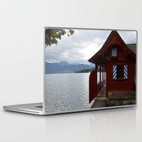 switzerland Laptop & iPad Skins featuring Switzerland by Mackenzie Lee