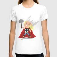 thor T-shirts featuring Thor by Rod Perich