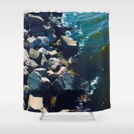 """Water"" Shower Curtain"